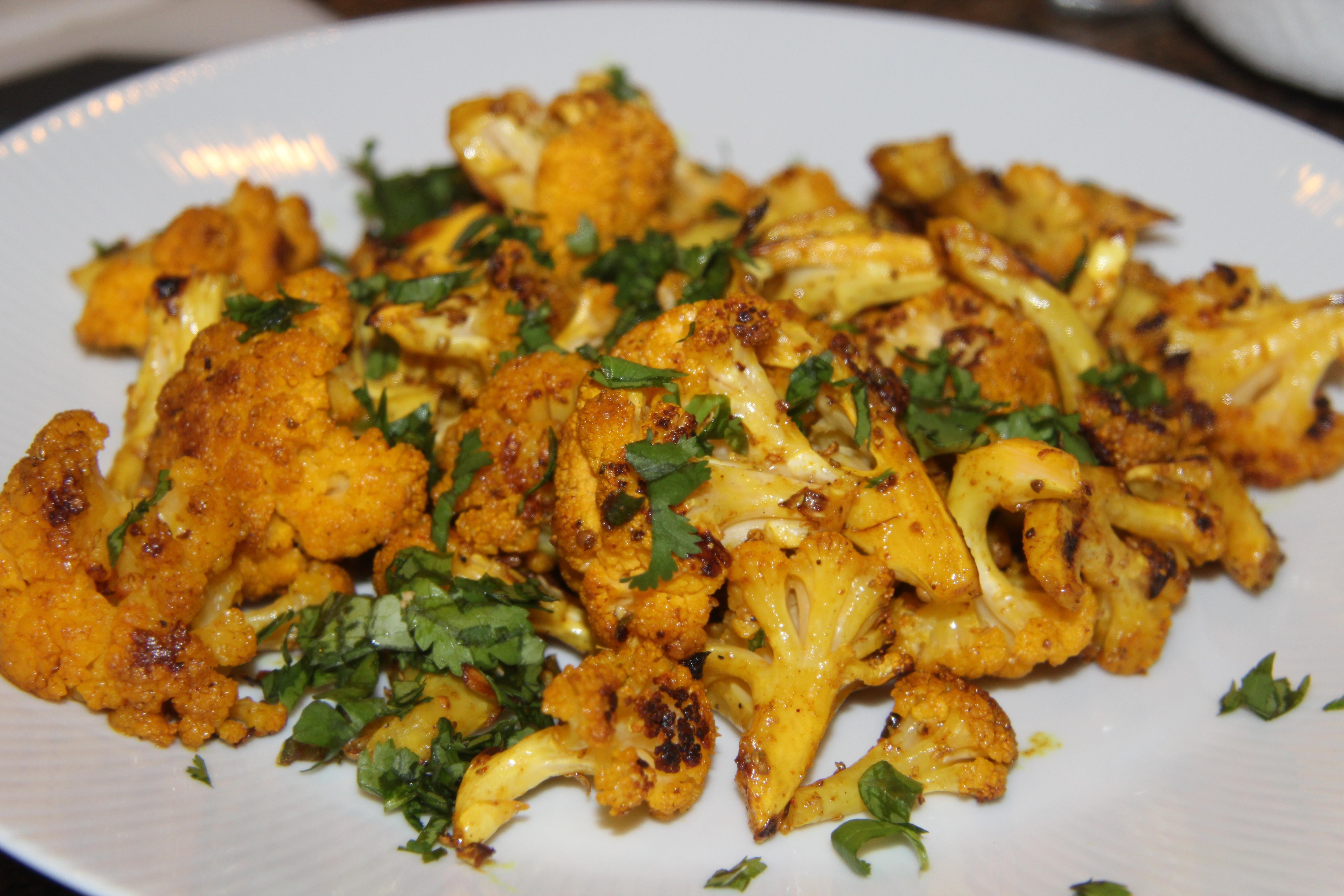 Indian Cauliflower Recipe  Indian Spiced Roasted Cauliflower