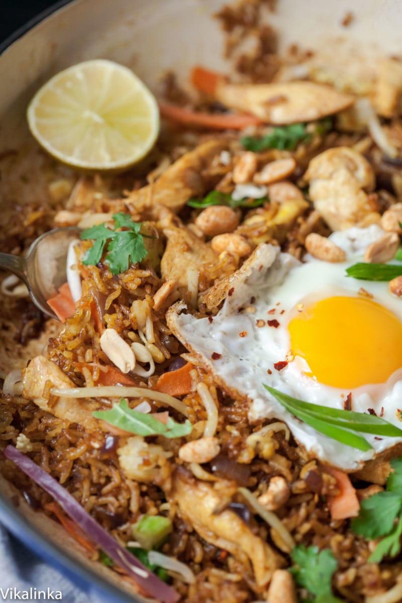 Indonesian Fried Rice  20 Minute Indonesian Fried Rice Nasi Goreng Vikalinka