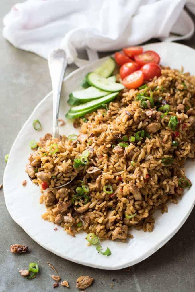 Indonesian Fried Rice  Nasi Goreng Indonesian Fried Rice