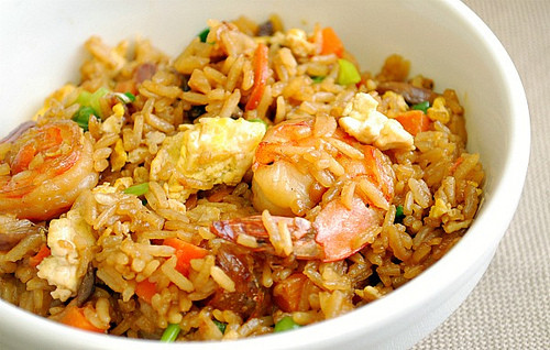 Indonesian Fried Rice  Indonesian Shrimp Fried Rice What s Cookin Chicago
