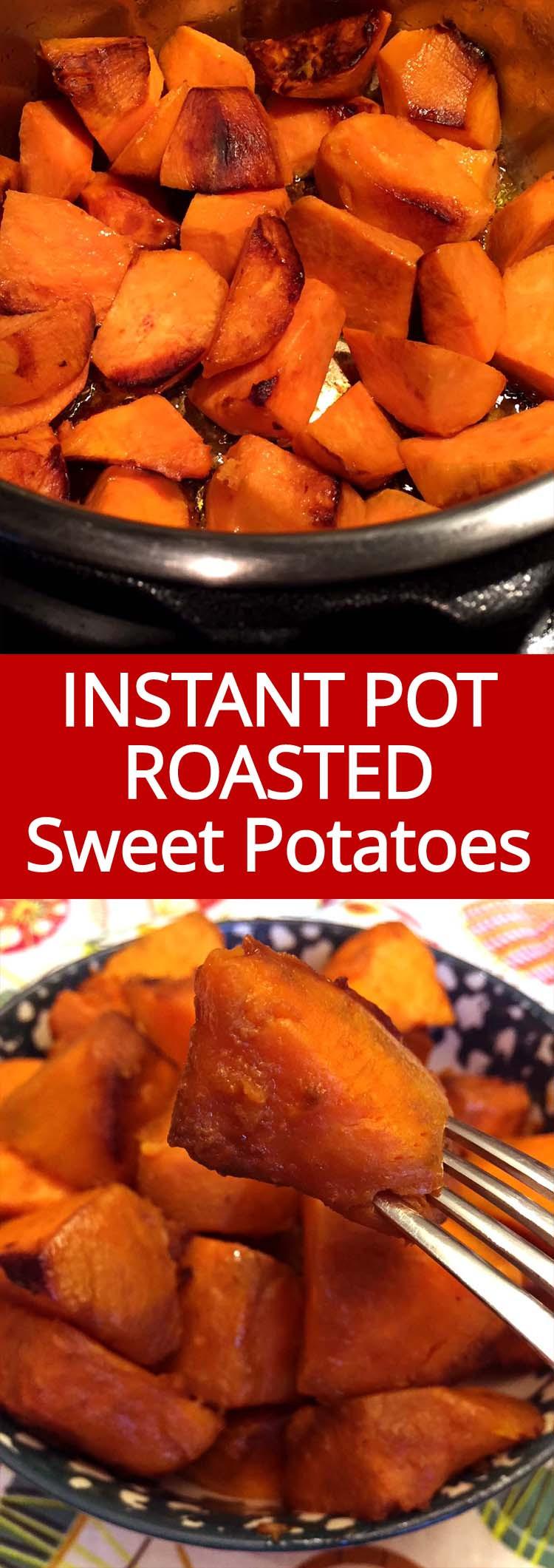 Instant Pot Baked Sweet Potato  Instant Pot Roasted Sweet Potatoes Recipe – Melanie Cooks