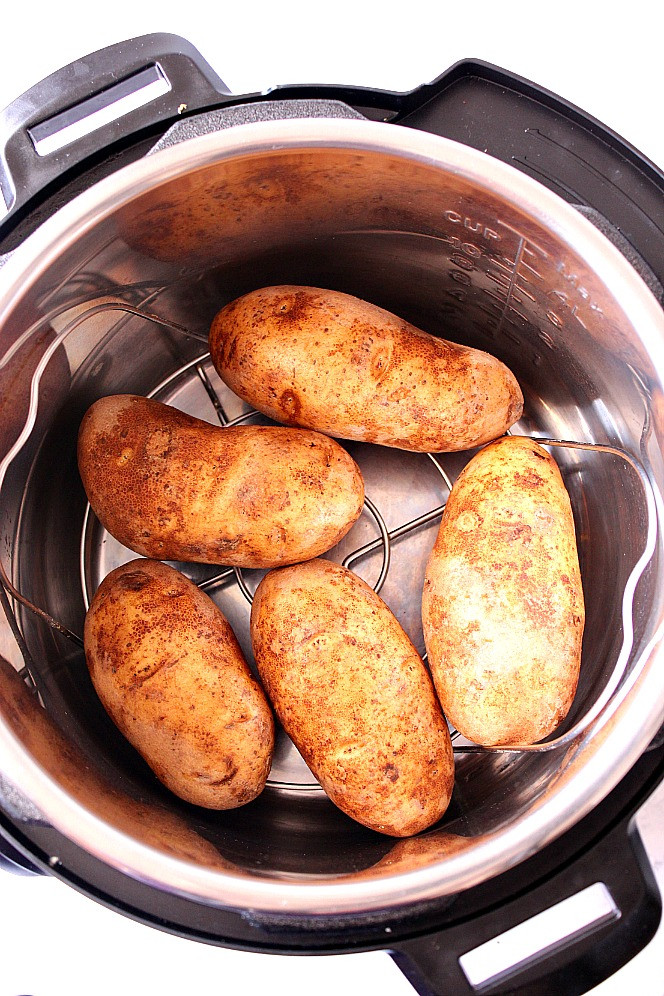 Instant Pot Baked Sweet Potato  Instant Pot Baked Potatoes Recipe Crunchy Creamy Sweet