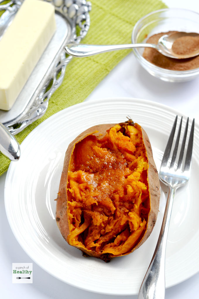 Instant Pot Baked Sweet Potato  Sweet Potatoes in the Instant Pot A Pinch of Healthy