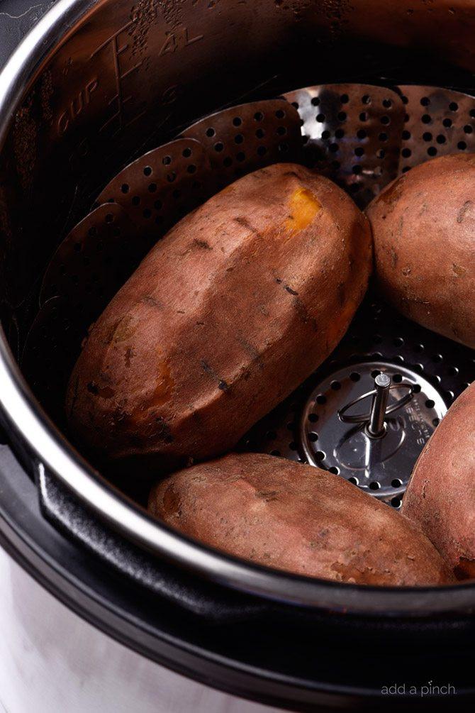 Instant Pot Baked Sweet Potato  Instant Pot Sweet Potatoes Recipe Add a Pinch