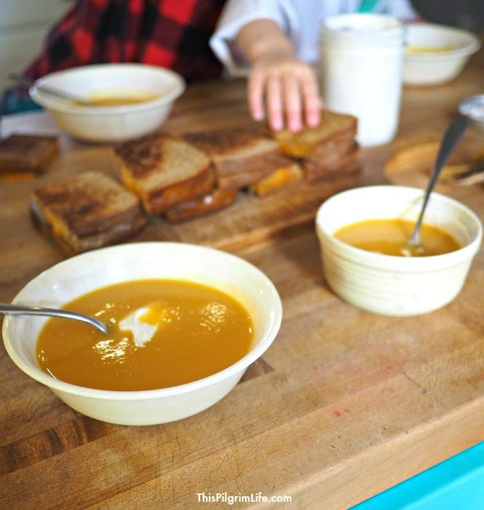 Instant Pot Butternut Squash Soup  Instant Pot Butternut Squash & Apple Soup This Pilgrim Life