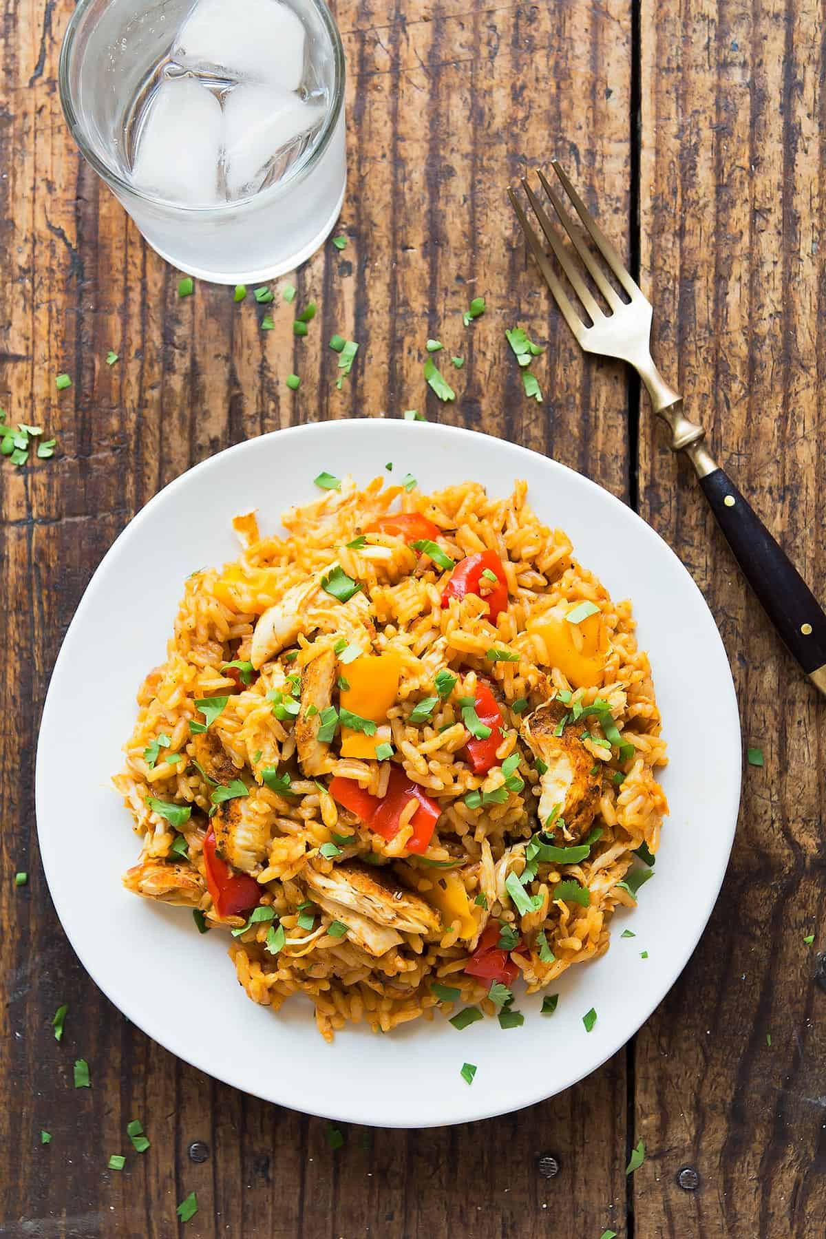 Instant Pot Chicken And Brown Rice  Instant Pot Chicken and Rice Leelalicious
