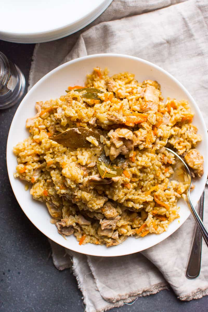 Instant Pot Chicken And Brown Rice  Instant Pot Chicken and Rice iFOODreal Healthy Family