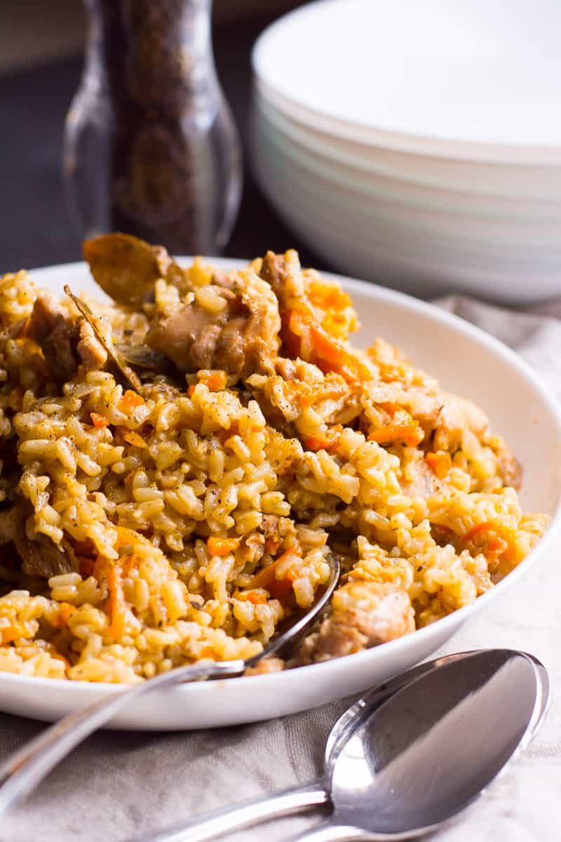 Instant Pot Chicken And Brown Rice  Instant Pot Chicken and Brown Rice Recipe iFOODreal