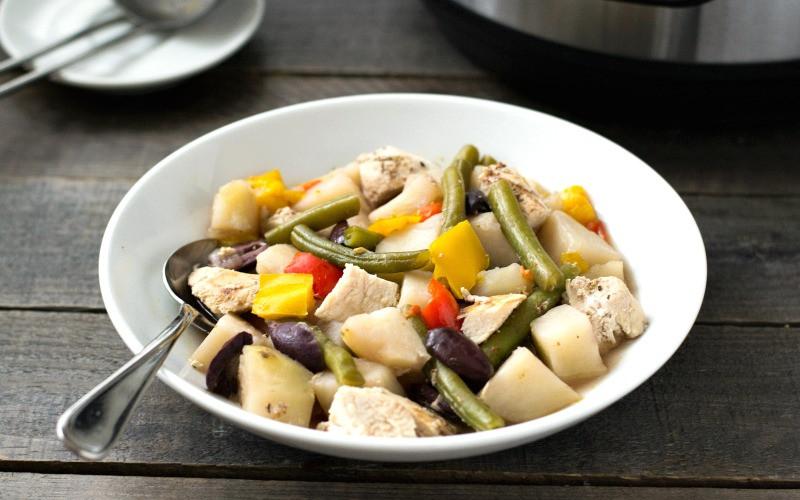 Instant Pot Chicken Stew  Instant Pot Chicken Stew Easy Family Dinner Recipe