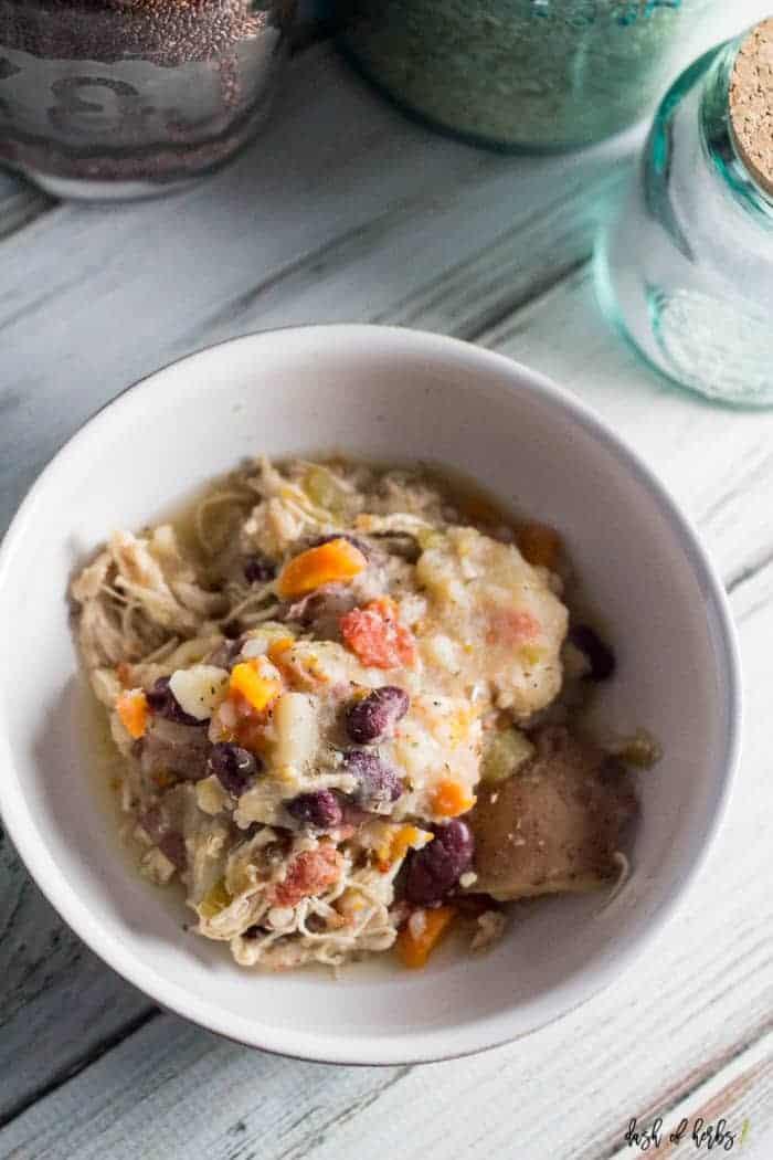 Instant Pot Chicken Stew  Instant Pot Protein Packed Chicken Stew Dash of Herbs
