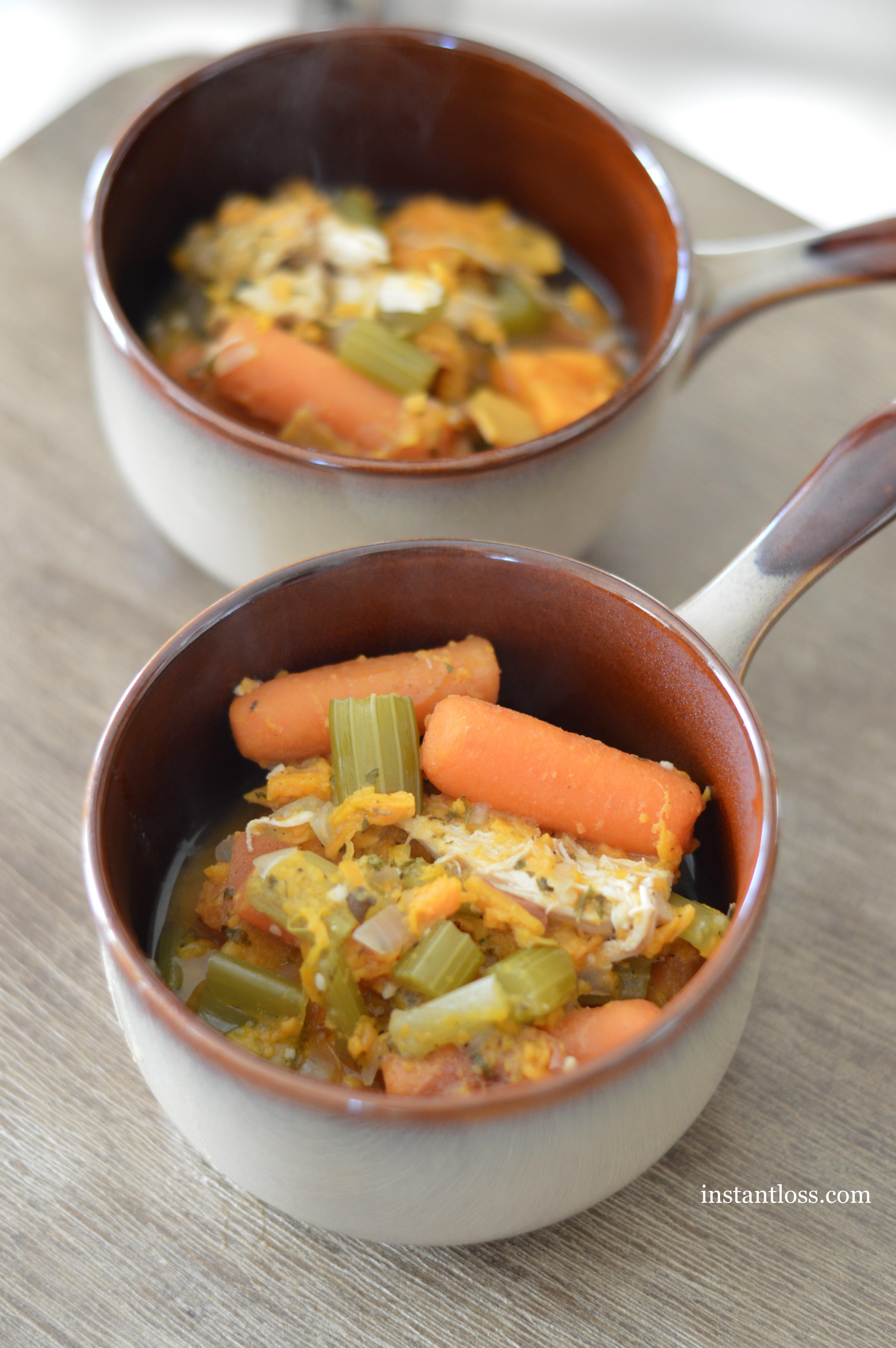 Instant Pot Chicken Stew  Instant Pot 10 Minute Chicken Stew Instant Loss