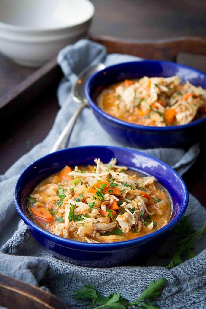 Instant Pot Chicken Stew  Instant Pot Chicken Stew Recipe with Farro Stovetop