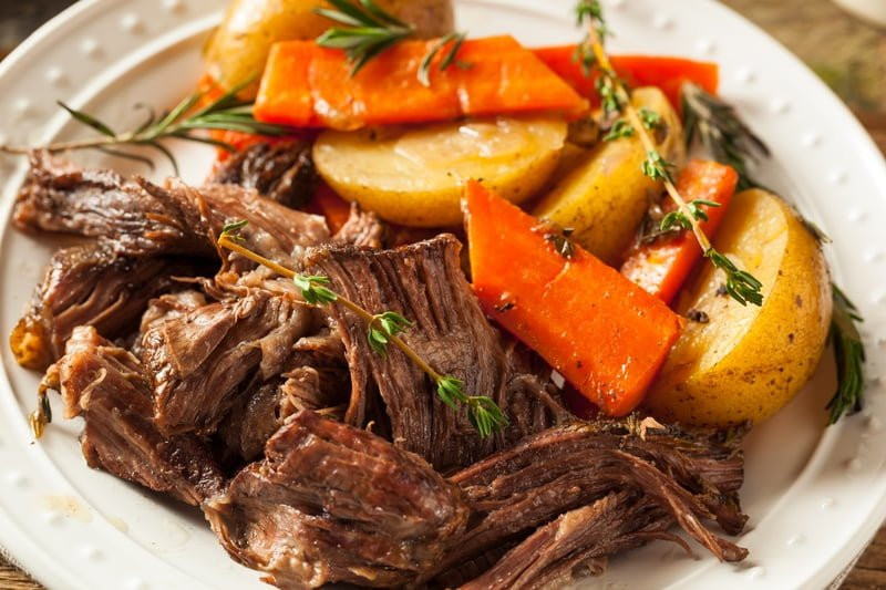 Instant Pot Recipes Beef Roast  Whole 30 Beef Pot Roast In The Instant Pot • Recipe This