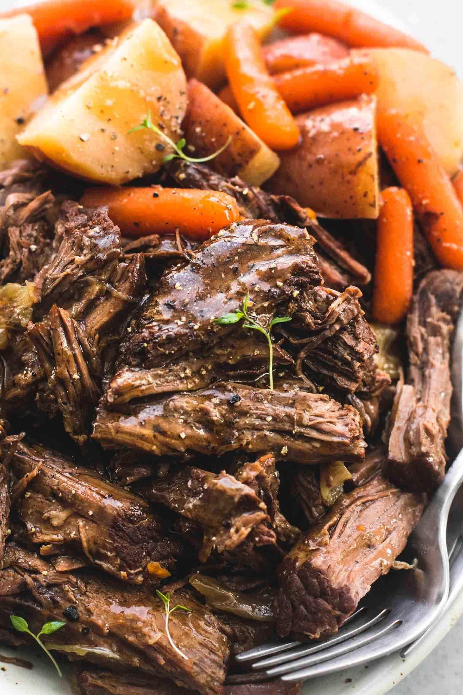 Instant Pot Recipes Beef Roast  Instant Pot Pot Roast and Potatoes