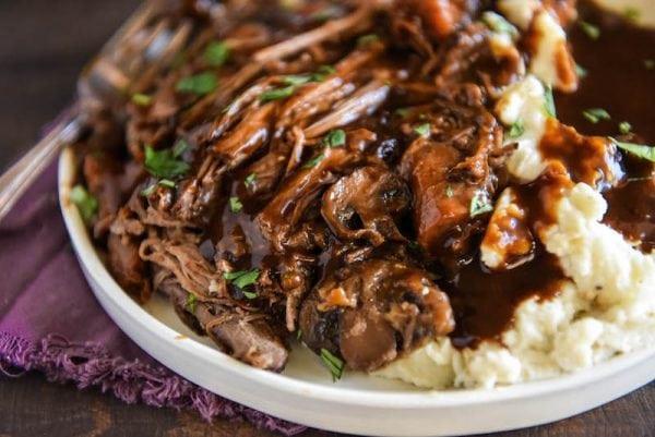 Instant Pot Recipes Beef Roast  Slow Cooker Beef Pot Roast my secret family recipe
