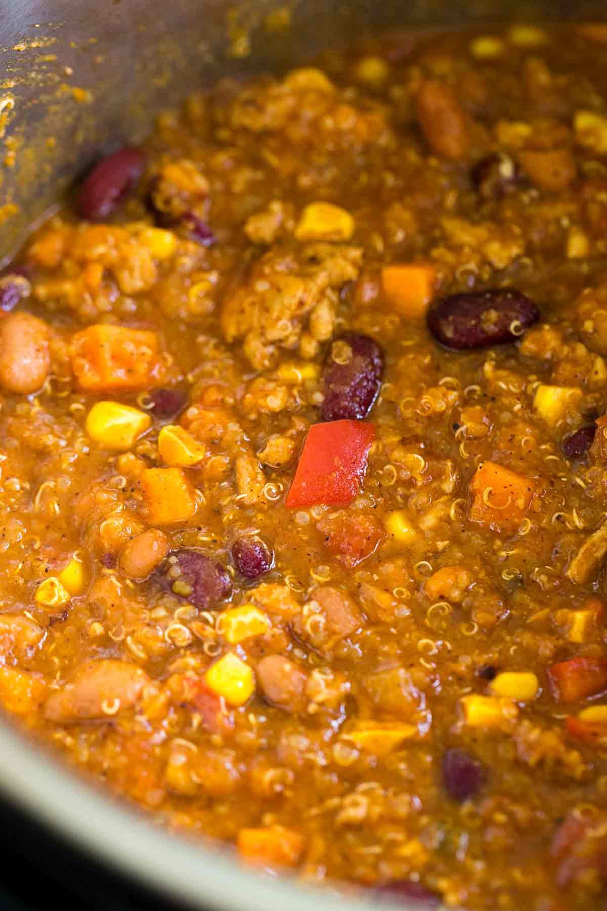 Instant Pot Turkey Chili  Instant Pot Turkey Chili with Quinoa Jessica Gavin