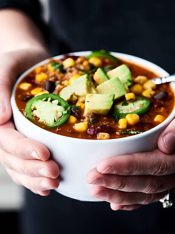 Instant Pot Vegetarian Chili  Instant Pot Ve arian Chili Recipe Ready in 30 Mins