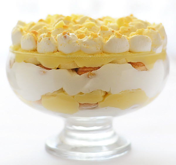 Instant Pudding Desserts  Homemade Banana Pudding