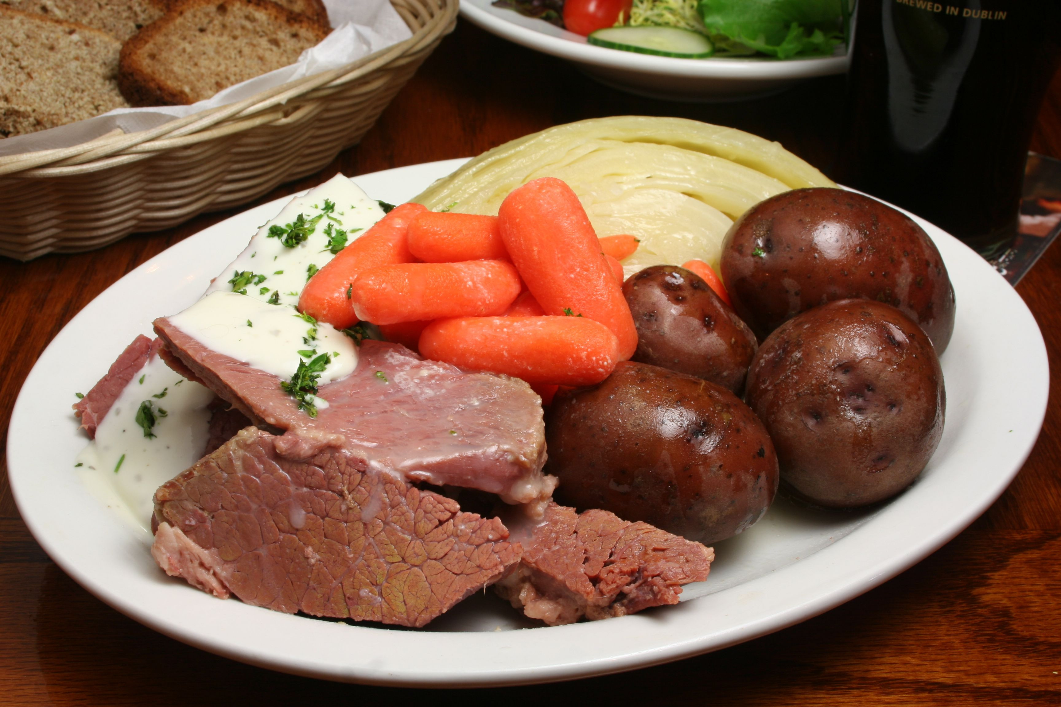 Irish Boiled Dinner  Perfect Corned Beef and Cabbage Meal