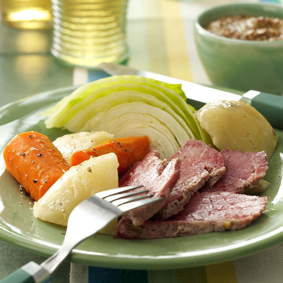 Irish Boiled Dinner  Best Corned Beef n Cabbage Recipe