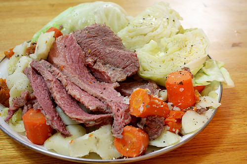 Irish Boiled Dinner  boiled dinner with cabbage