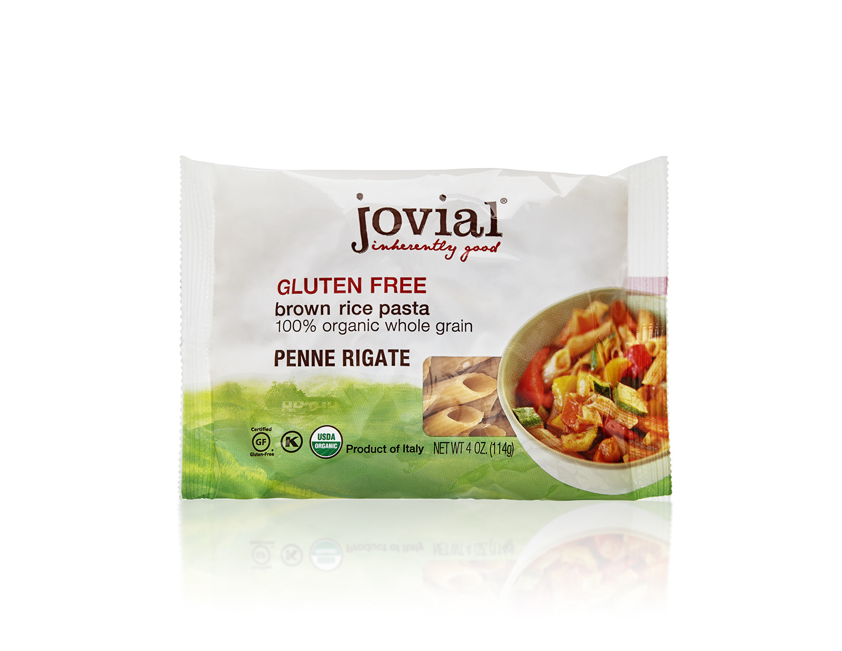 Is Brown Rice Gluten Free  4 oz serving Penne Rigate Gluten Free Brown Rice Pasta