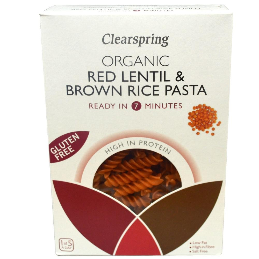 Is Brown Rice Gluten Free  Clearspring Organic Gluten Free Red Lentil & Brown Rice