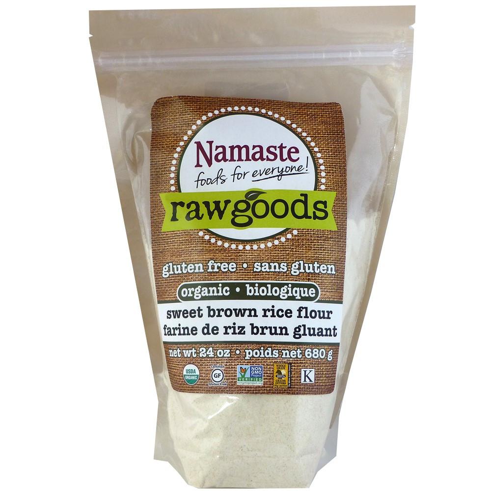 Is Brown Rice Gluten Free  Namaste Foods Raw Good Organic Gluten Free Sweet Brown