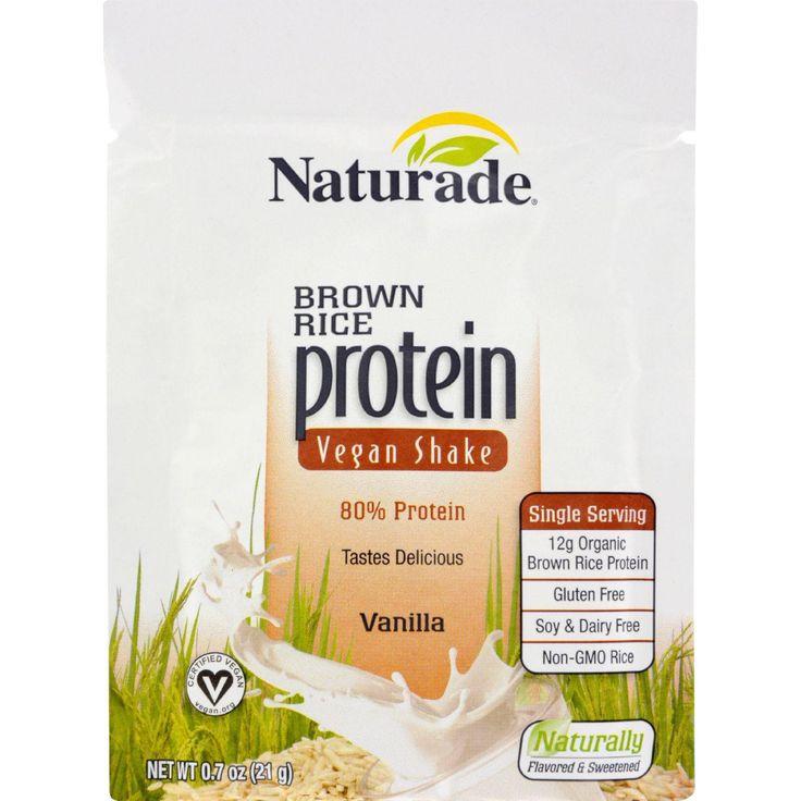 Is Brown Rice Gluten Free  Naturade Protein Shake Brown Rice Vegan Gluten Free