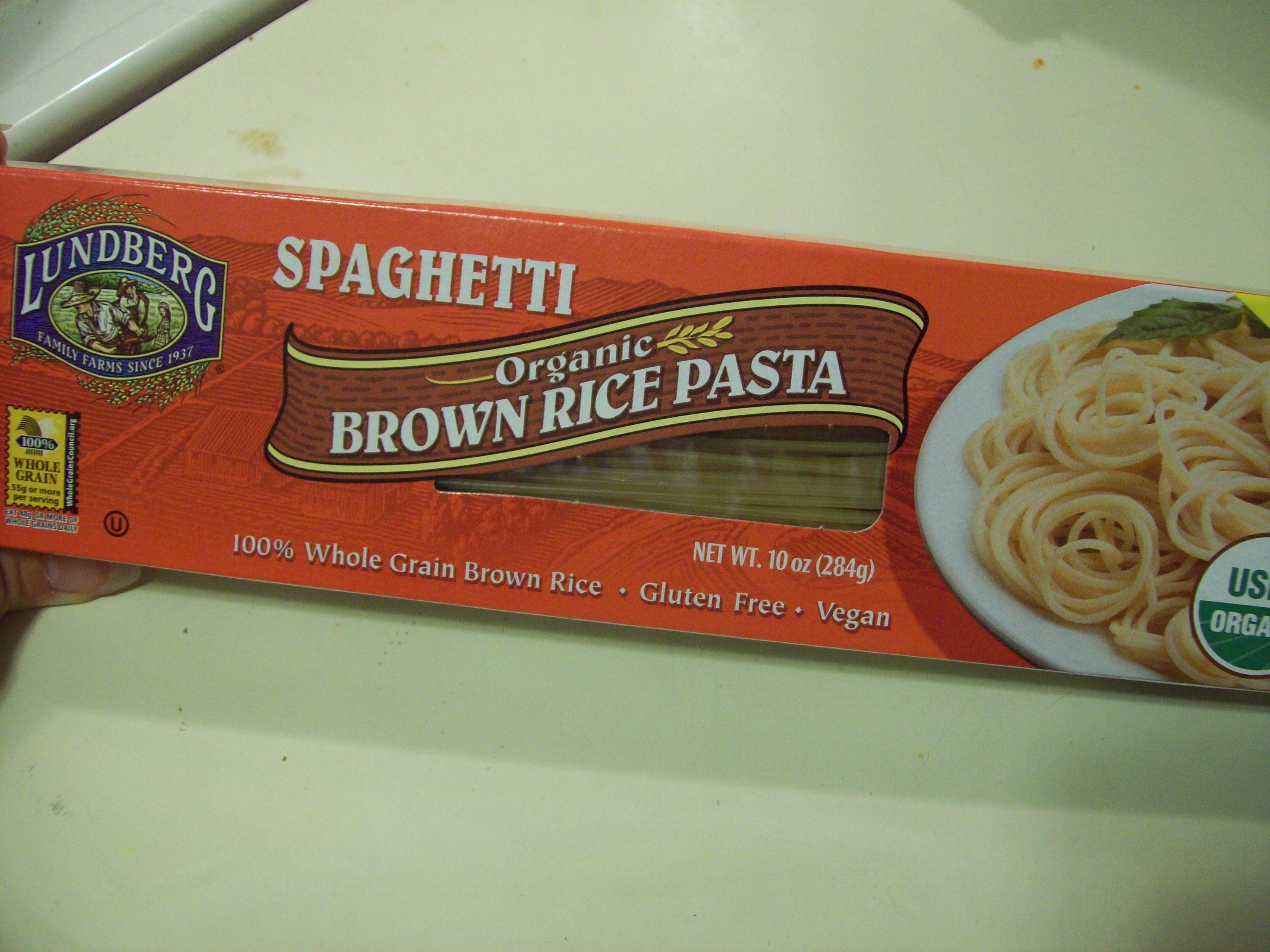 Is Brown Rice Gluten Free  spaghetti