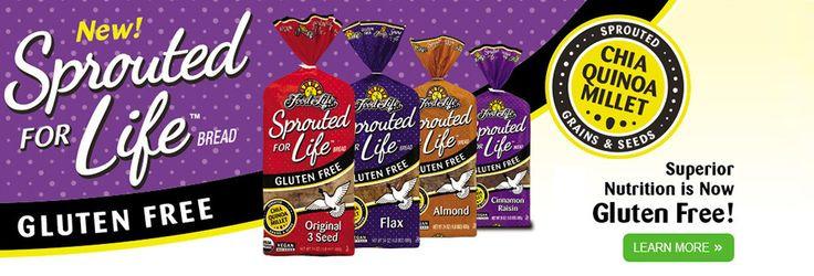 Is Ezekiel Bread Gluten Free  Ezekiel Bread Gluten Free Pasta Cereals – Food For
