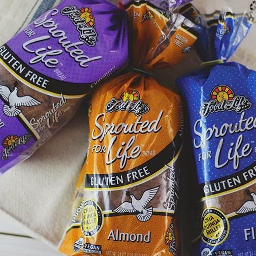 Is Ezekiel Bread Gluten Free  Carrie S Forbes Gingerlemongirl Review Sprouted