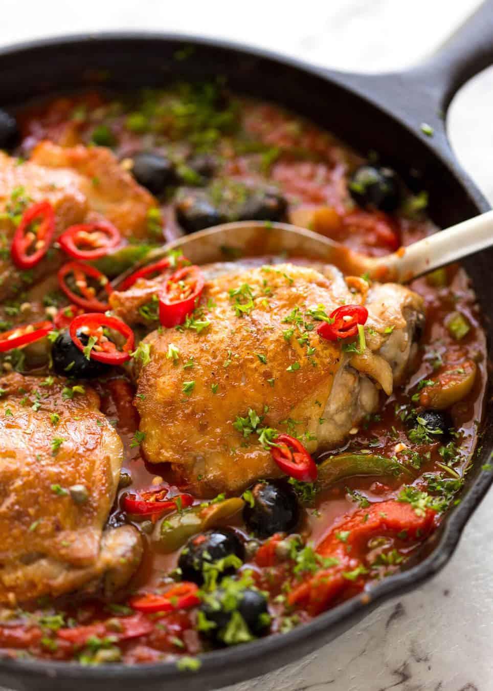 Italian Chicken Breast Recipes  Spicy Italian Chicken Casserole