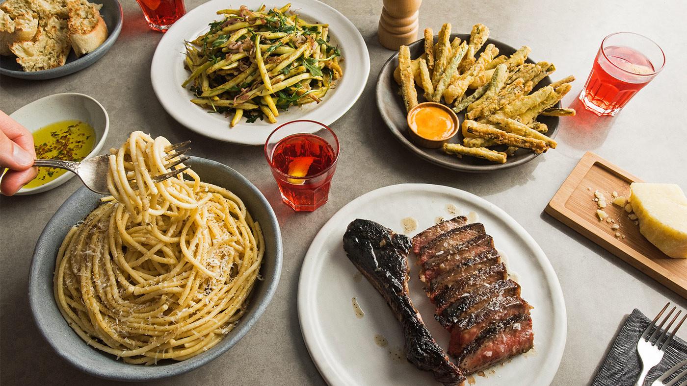 Italian Dinner Ideas  Italian American Dinner Party Menu from Jon & Vinny s