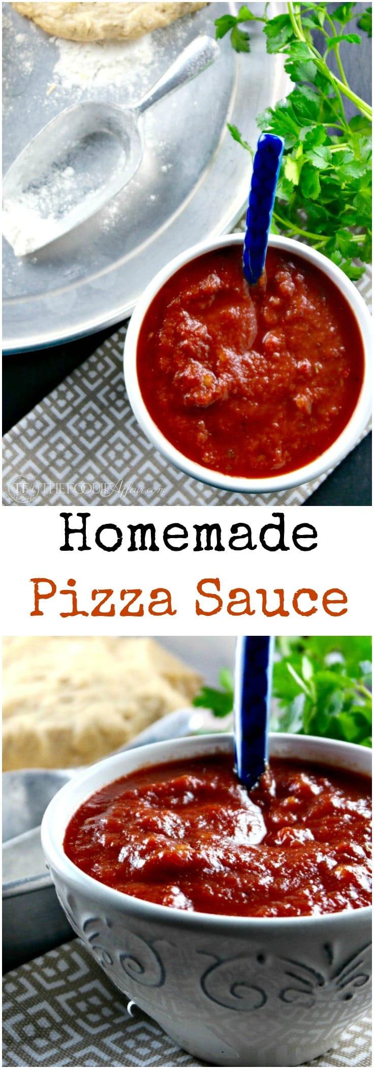 Italian Pizza Sauce Recipe  Homemade Pizza Sauce Recipe