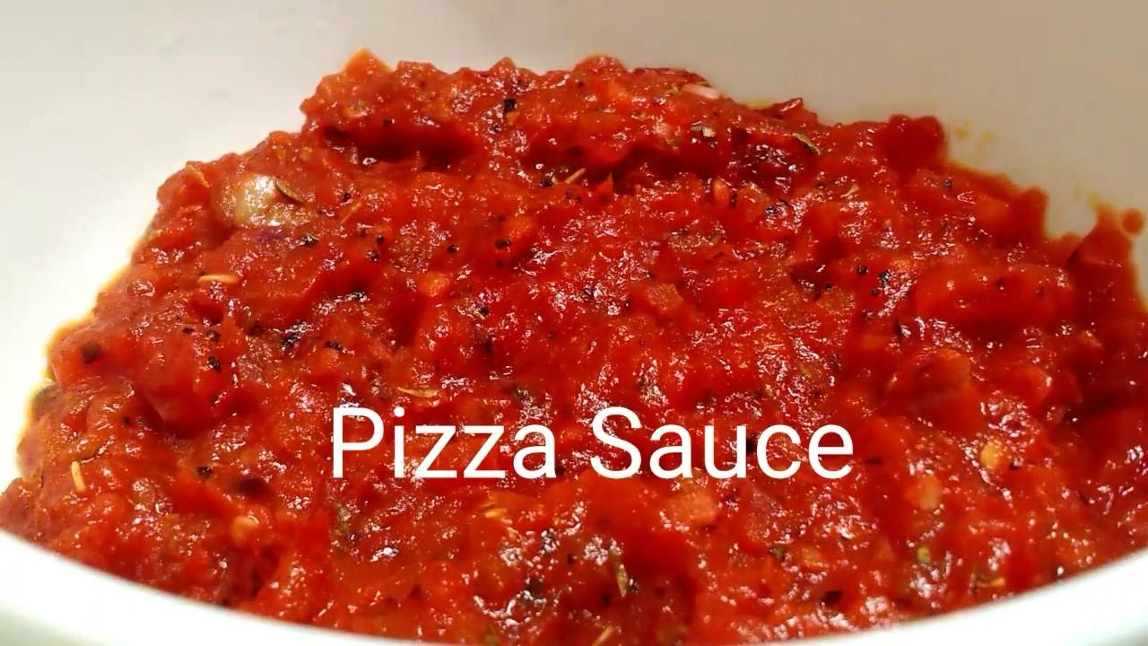 Italian Pizza Sauce Recipe  Homemade Pizza Sauce recipe Italian pizza sauce Quick