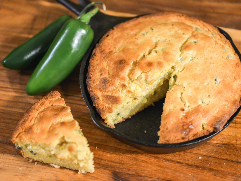 Jalapeno Cornbread Recipe  Jalapeño Jack Cornbread Recipe