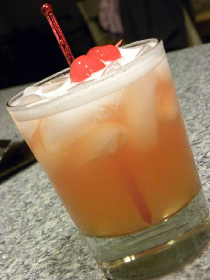Jameson Whiskey Drinks  Jameson Whiskey Sour cocktail recipe with drink picture