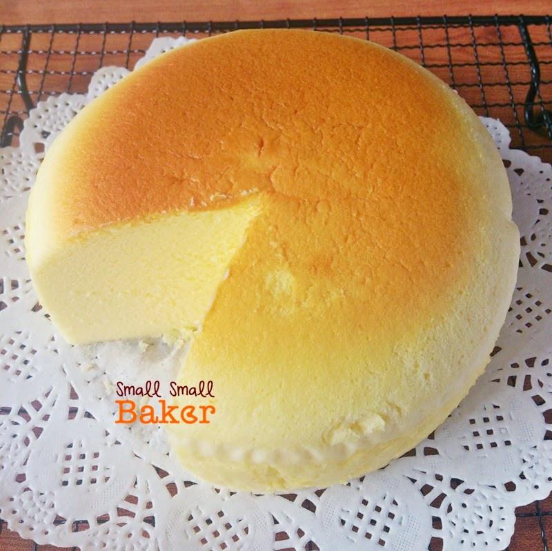 Japanese Cotton Cheesecake Recipe  Small Small Baker Japanese Cotton Cheesecake