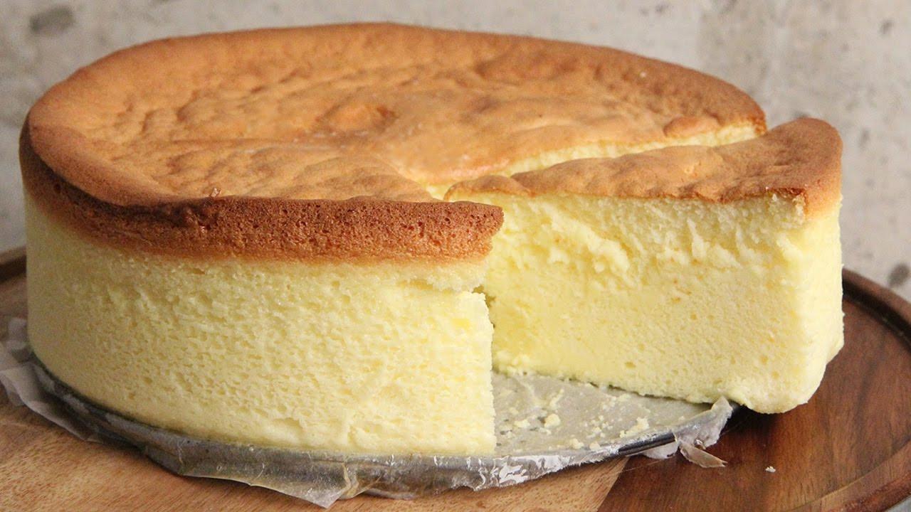 Japanese Cotton Cheesecake Recipe  Japanese Cotton Cheesecake Episode 1157