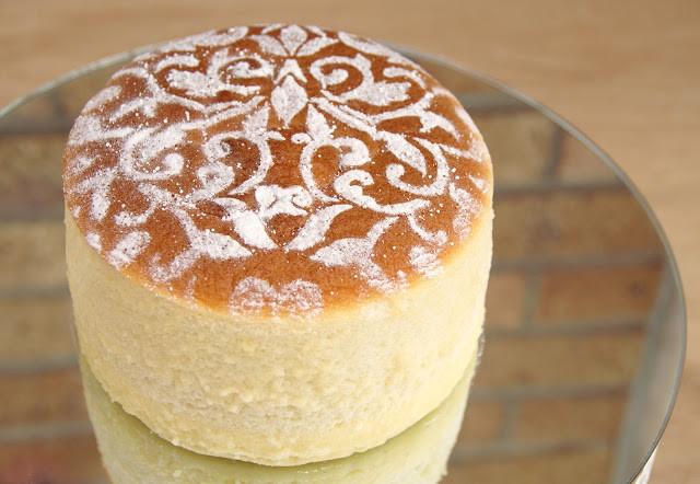 Japanese Cotton Cheesecake Recipe  Japanese Cotton Cheesecake