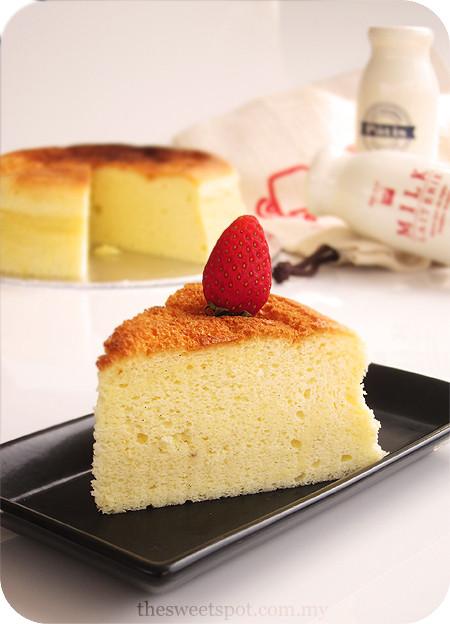 Japanese Cotton Cheesecake Recipe  Japanese Cotton Cheesecake – The Sweet Spot
