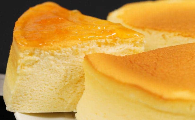 Japanese Cotton Cheesecake Recipe  Japanese Soufflé Cheesecake Recipe Fluffy and Moist