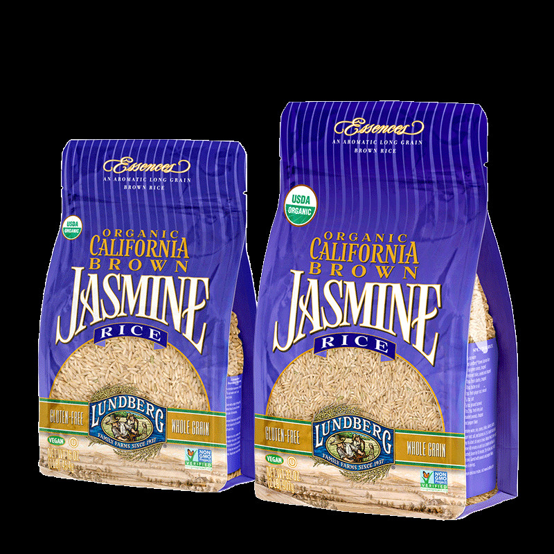 Jasmine Brown Rice  ORGANIC CALIFORNIA BROWN JASMINE RICE