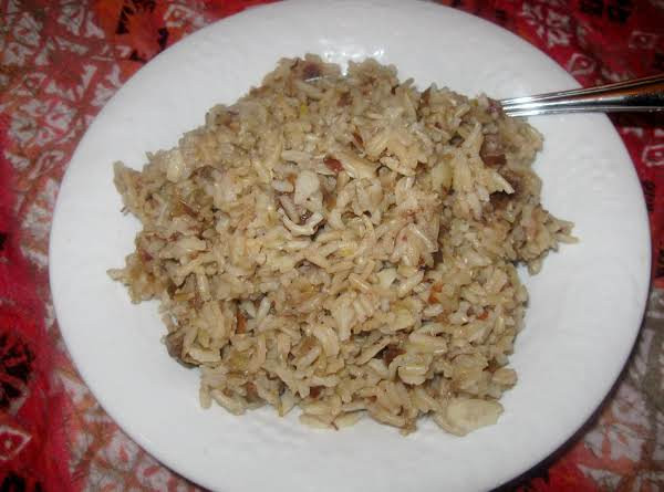 Jasmine Brown Rice  Brown Jasmine Rice With Dates And Sliced Almonds Recipe