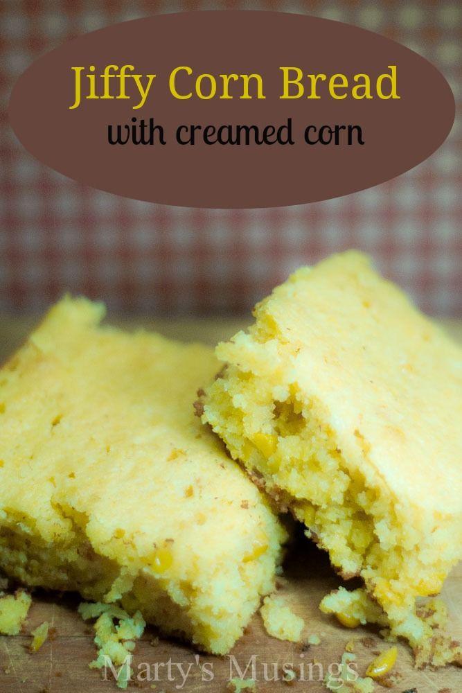 Jiffy Cornbread With Creamed Corn  Jiffy corn muffin mix recipes creamed corn