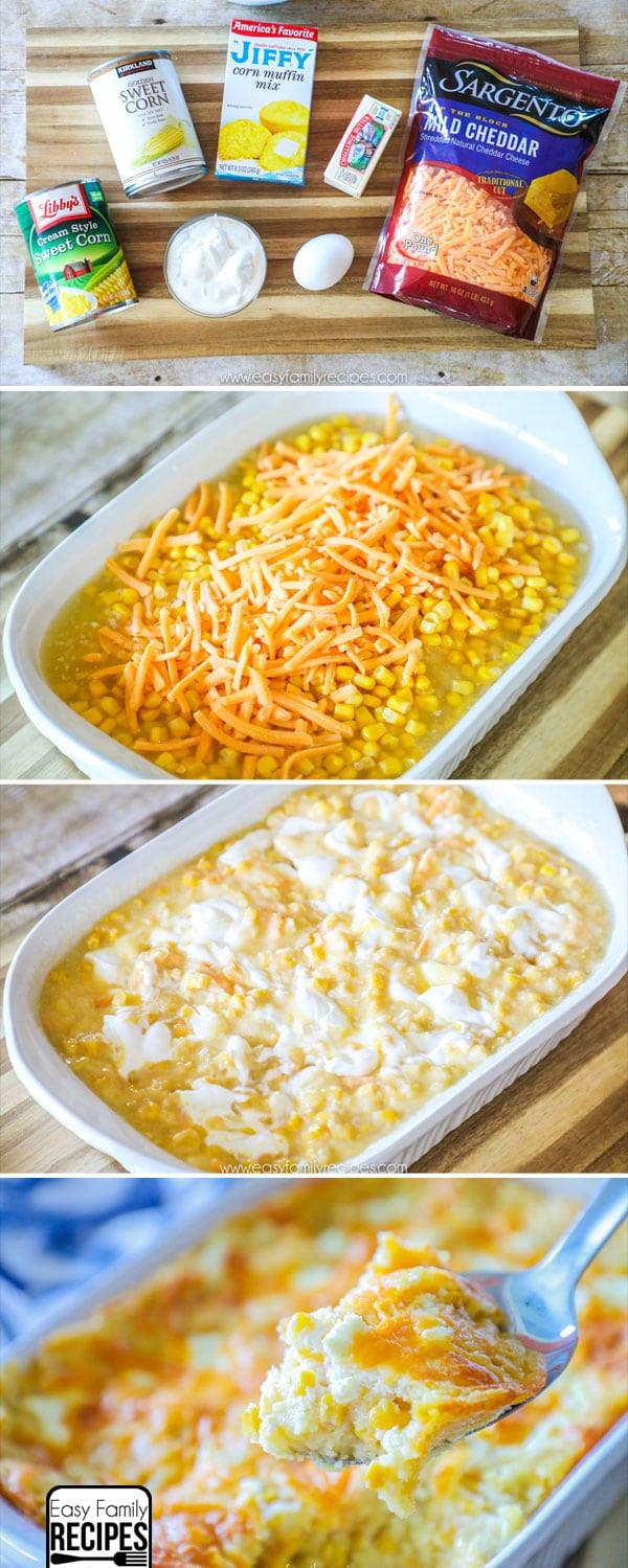 Jiffy Mix Corn Casserole  easy jiffy corn casserole