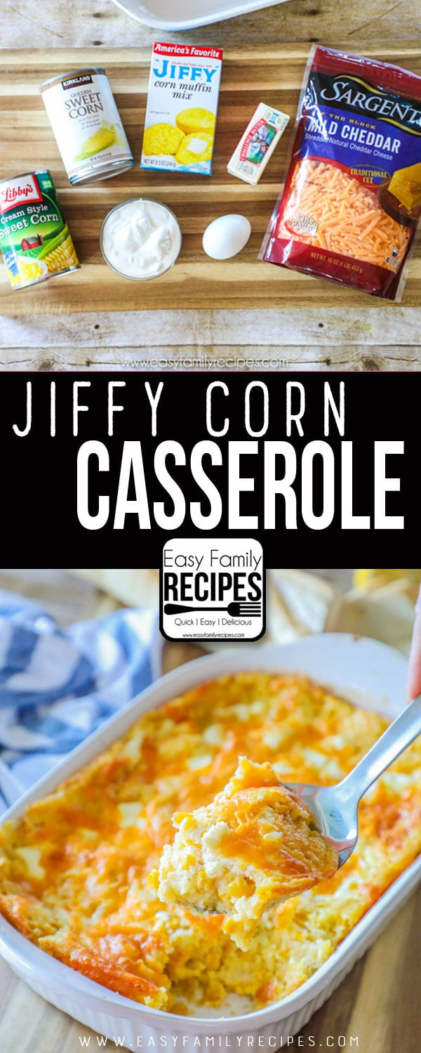 Jiffy Mix Corn Casserole  corn casserole jiffy mix recipe
