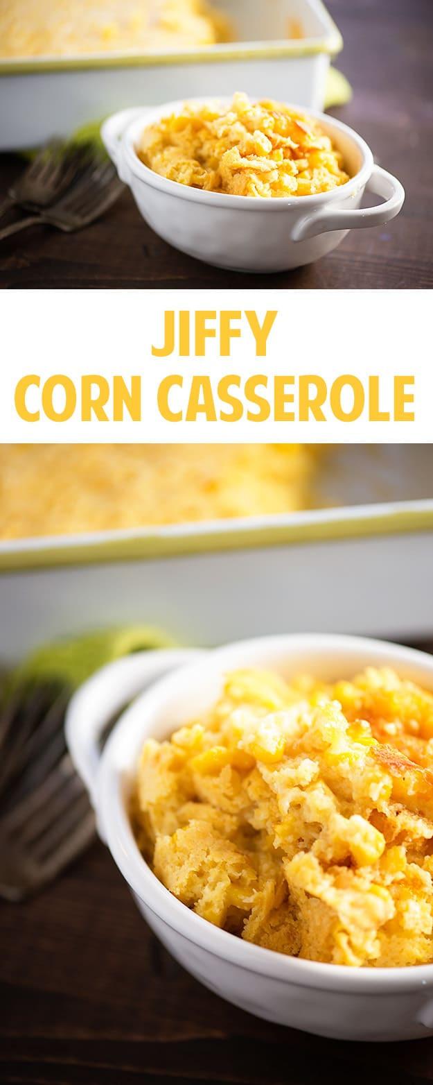 Jiffy Mix Corn Casserole  jiffy cake corn casserole