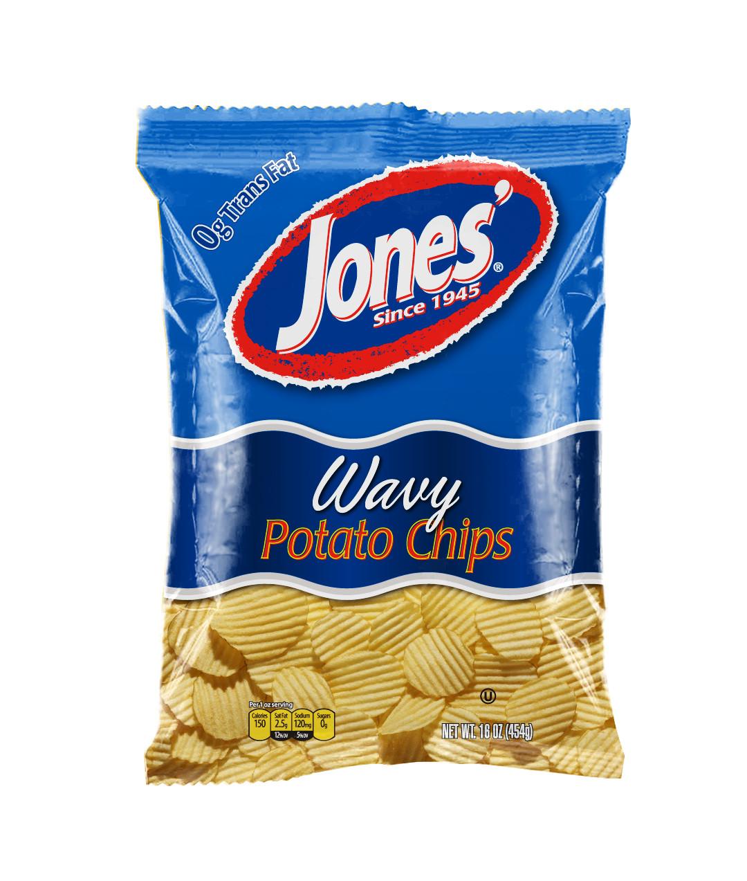 Jones Potato Chips  Potato Chips and Crisps from Jones Potato Chip Co Chips